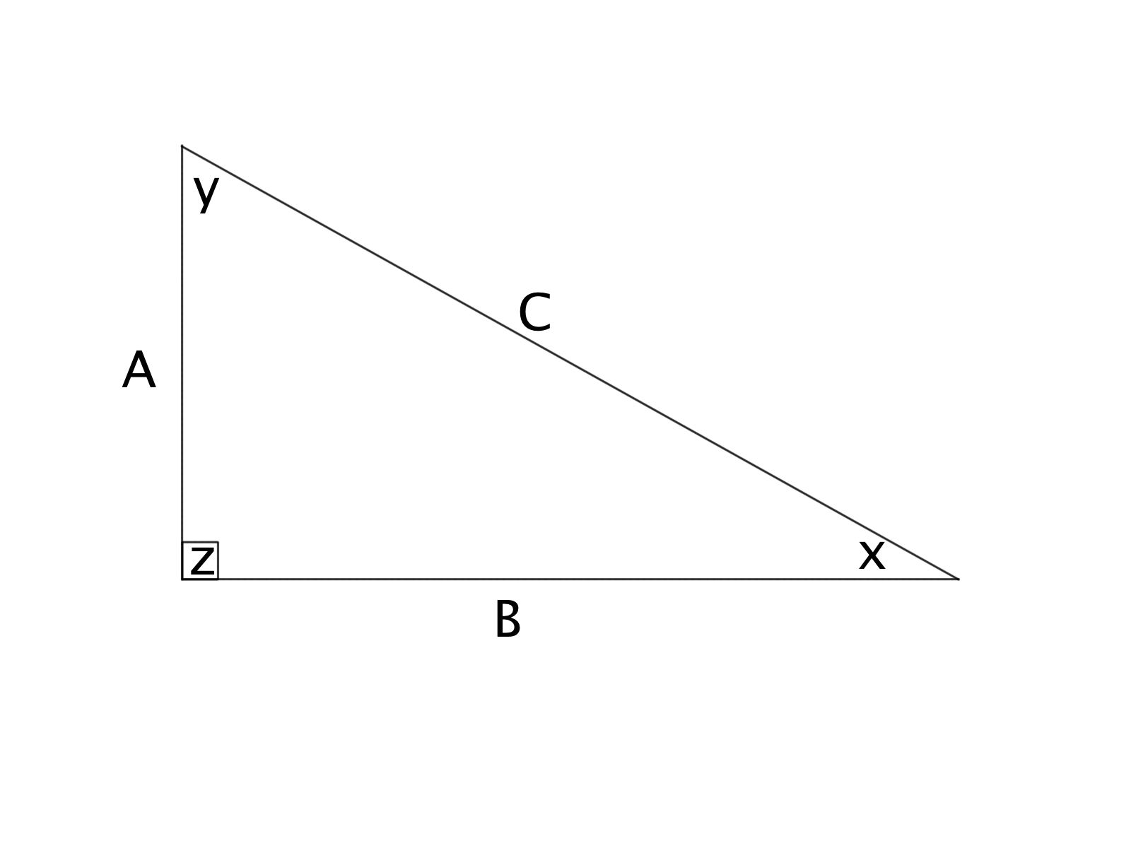 How to find the area of a right triangle - Basic Geometry