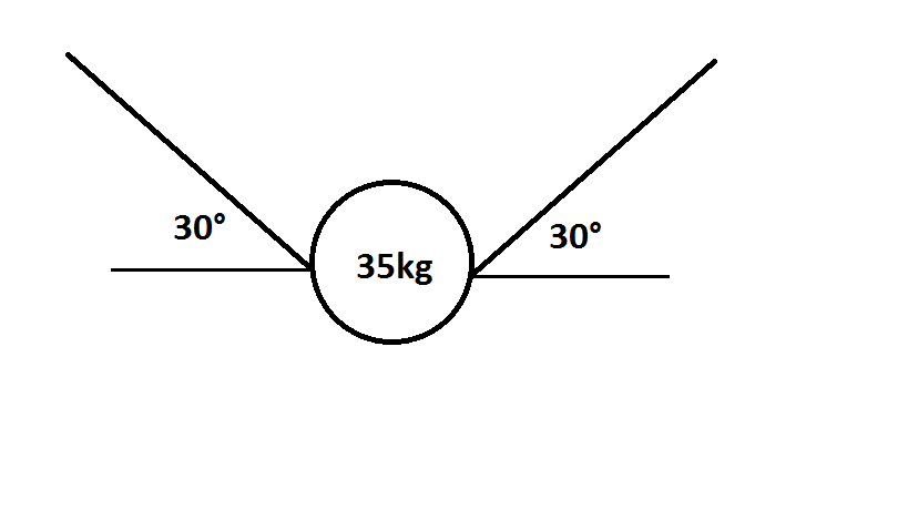 Suspended weight