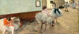 Degas--the_ballet_lesson