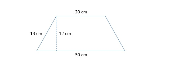 how to find the length of the diagonal of a trapezoid advanced rh varsitytutors com moment diagram of trapezoidal load diagram of isosceles trapezoid