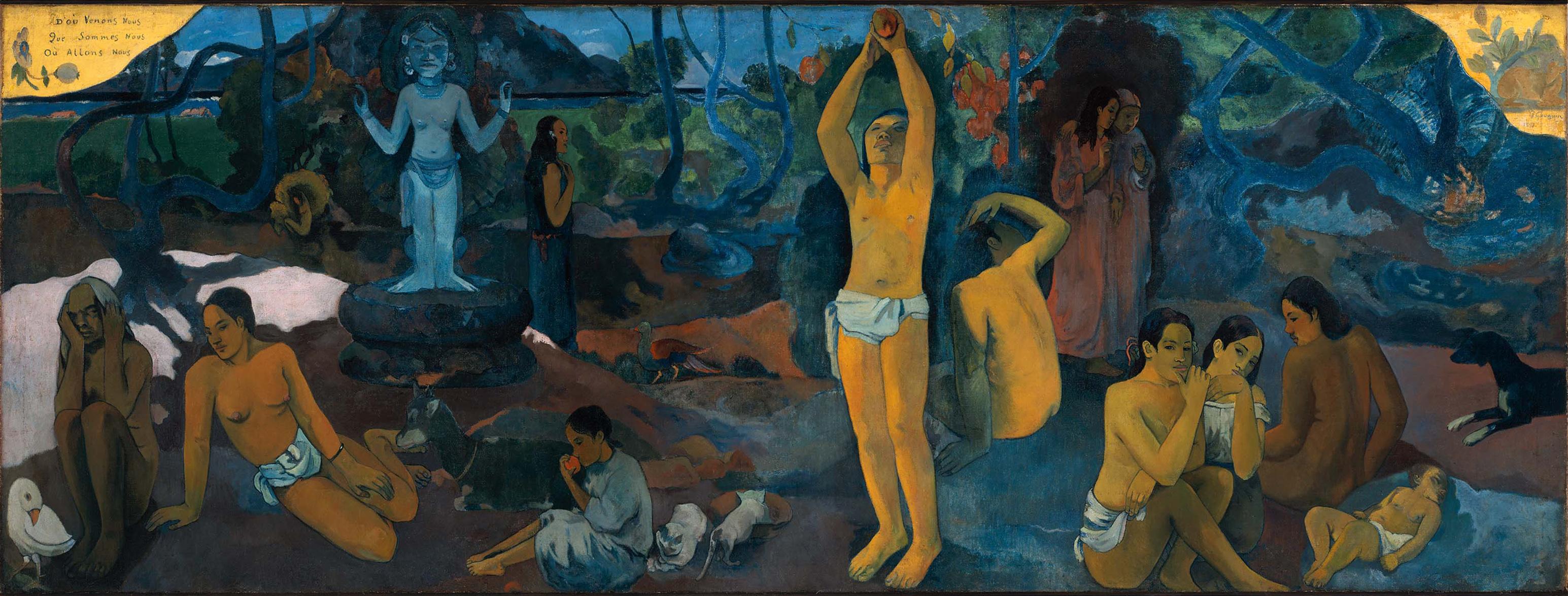 Paul gauguin   d ou venons nous