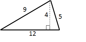 area of a triangle pre algebra