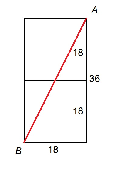 How To Find The Length Of The Diagonal Of A Rectangle Sat Math