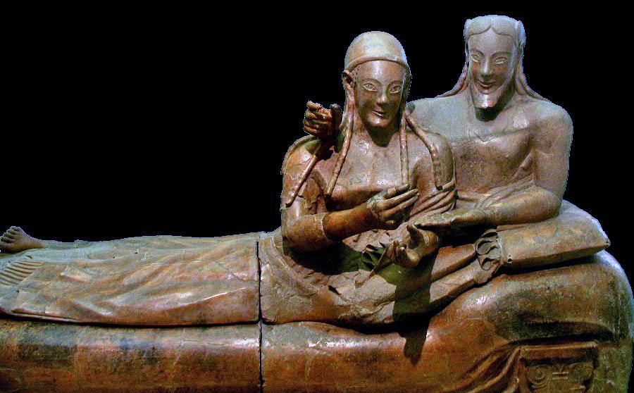 Banditaccia sarcofago degli sposi
