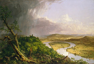 Cole thomas the oxbow  the connecticut river near northampton 1836