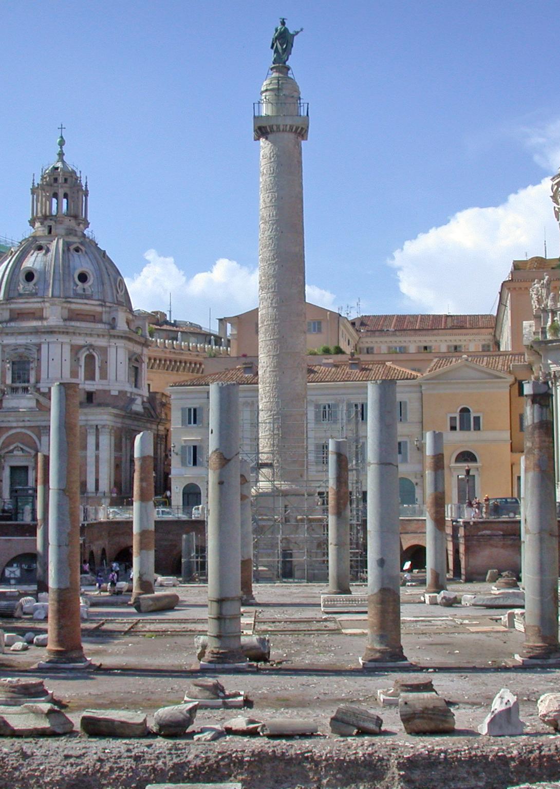 Romacolonnatraiana basilicaulpia