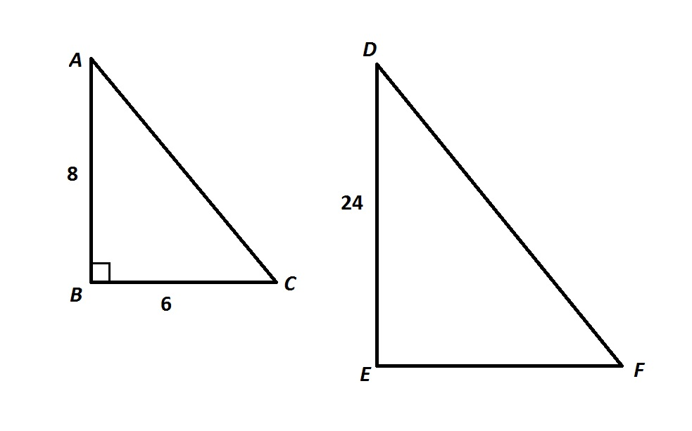 similar triangles and proportions ged math