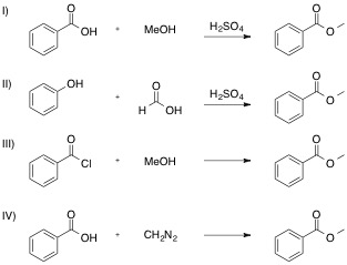 synthesis of methyl benzoate