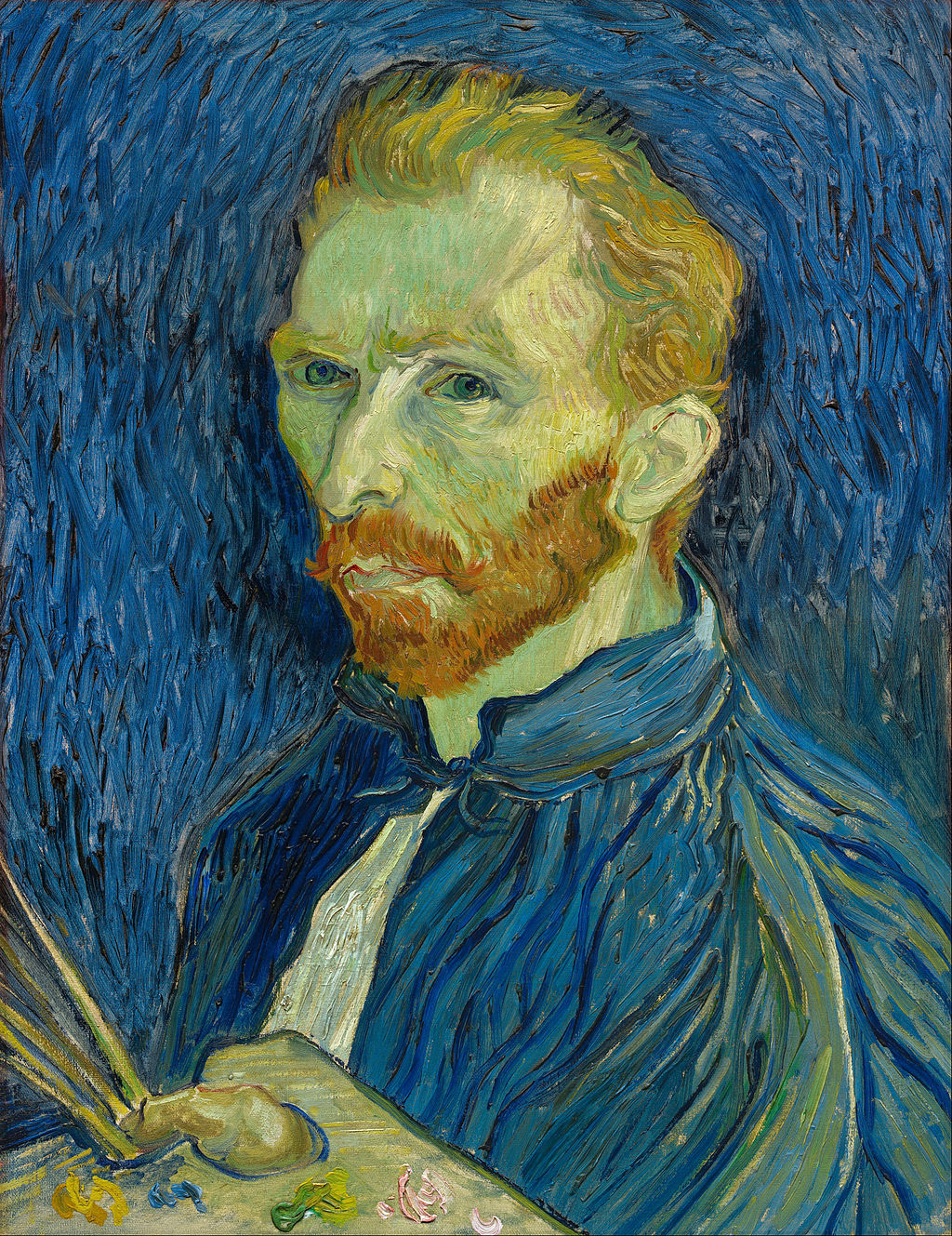 1024px vincent van gogh   self portrait   google art project  719161