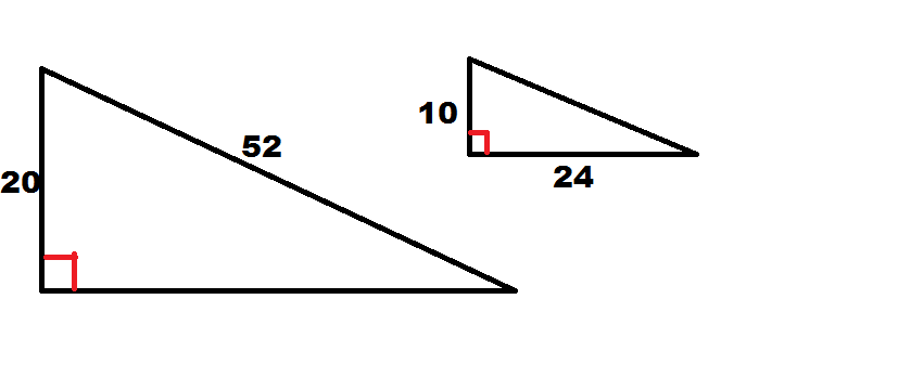 How to find if right triangles are similar - Basic Geometry
