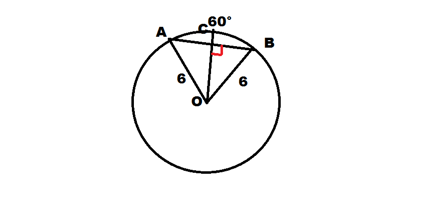 How to find the length of a chord - Intermediate Geometry