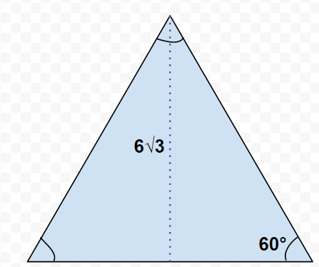 How To Find The Length Of The Side Of An Equilateral Triangle Act Math