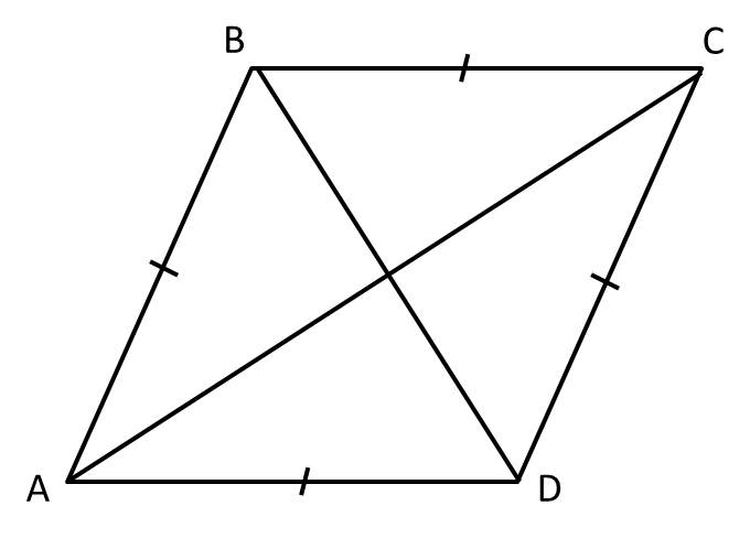 How To Find The Length Of The Diagonal Of A Rhombus Advanced Geometry