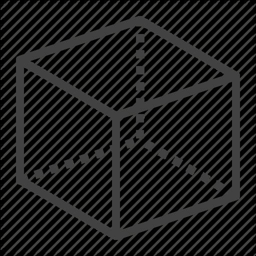 142 cube box geometry 3d modeling 512