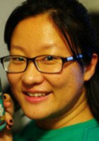 A photo of Shengnan, a tutor from Southwest Jiaotong University