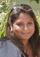 A photo of Shefali, a tutor from Rutgers University-New Brunswick