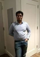 A photo of Parmanand, a tutor from City College of New York