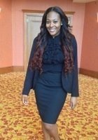 A photo of Leah, a tutor from Howard University