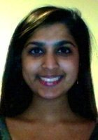 A photo of Purvi, a tutor from College of William and Mary