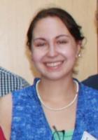 A photo of Lorelei, a tutor from Brandeis University