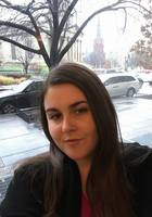 A photo of Erona, a tutor from Tirana university