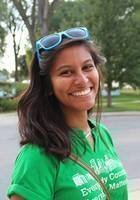 A photo of Dharani, a tutor from Wellesley College