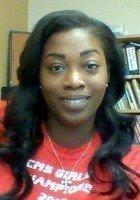 A photo of Treshonda, a tutor from University of Miami