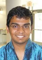 A photo of Nikhil, a tutor from Johns Hopkins University