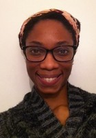 A photo of Kelly, a tutor from CUNY John Jay College of Criminal Justice