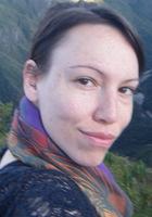 A photo of Cindy, a TOEFL tutor