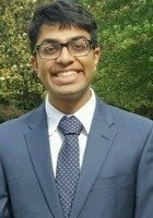 A photo of Amar, a tutor from University of North Carolina at Chapel Hill