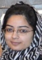 A photo of Saadia, a tutor from Haverford College