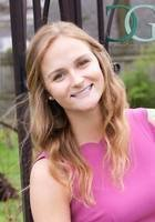 A photo of Becky, a tutor from Washington University in St Louis