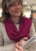 A photo of Darya, a tutor from Amherst College