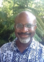 A photo of John-Gabriel, a tutor from University of Hawaii at Hilo