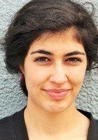 A photo of Farah, a tutor from Amherst College