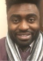 A photo of Isong, a tutor from North Carolina A & T State University