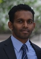 A photo of Dananjaya, a tutor from University of Peradeniya Sri Lanka
