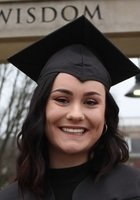 A photo of Hannah, a tutor from Eastern Kentucky University