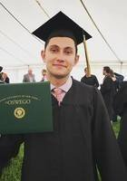 A photo of Michael, a tutor from SUNY College at Oswego
