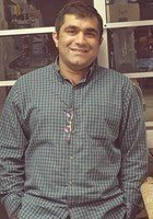 A photo of Haroon, a tutor from Prairie View A & M University