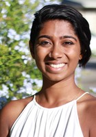 A photo of Aish, a tutor from University of California-Riverside