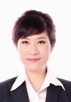 A photo of Huijuan, a tutor from Hebei Medical University
