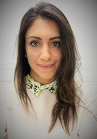 A photo of Sahar, a tutor from Yale University