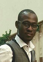 A photo of Kouame, a tutor from Cuyahoga Community College District