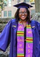 A photo of Christa, a tutor from Louisiana State University and Agricultural & Mechanical College
