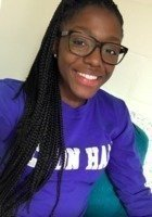 A photo of Amber, a tutor from Seton Hall University