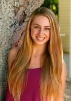 A photo of Elena, a tutor from Chapman University