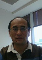A photo of Ping, a tutor from Zhongnan University of Finance and Economics