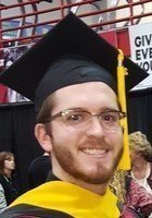 A photo of Kevin, a tutor from Southeast Missouri State University